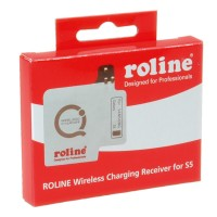 ROLINE Qi Wireless Charging Receiver Pad for S5