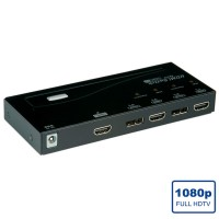 ROLINE HDMI/DisplayPort Switch, 4-way