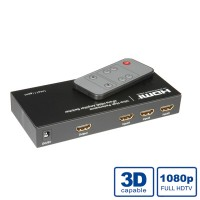 ROLINE HDMI Switch, Automatic, 4-way