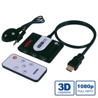 ROLINE HDMI Switch, Automatic, 3-way