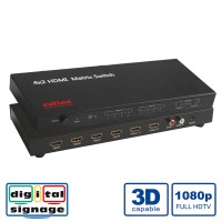 ROLINE HDMI Matrix Switch, 4 x 2