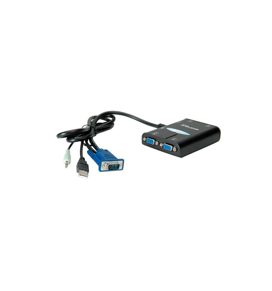 value portable vga video splitter  4