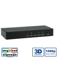 ROLINE HDMI Splitter, 4-way