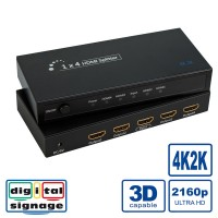 ROLINE HDMI Splitter, 4K, 4-way