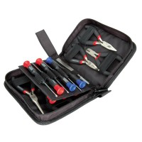 Precision Pliers + Screwdriver Set, 19-piece