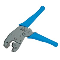Crimping Tool for Hirose RJ-45 Plug TM21 and TM31 blue