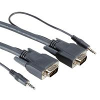 ROLINE Combi Cable, VGA + Audio, M-M 3 m