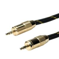 ROLINE GOLD 3.5mm Audio Connetion Cable, Male - Male 2.5m