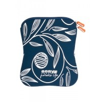 "NOTEBOOK SLEEVE ET-919 LEAF / 10,2"" / neopren / navy-white"
