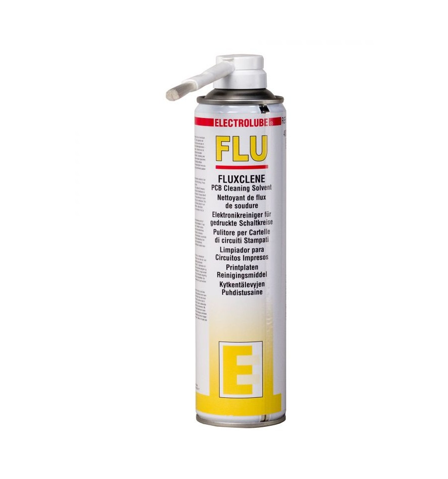 ELECTROCLUBE Fluxclene solvent for removing contaminants and