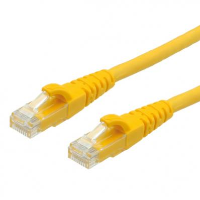 ROLINE UTP Cable Cat.6, halogen-free, yellow, 5m