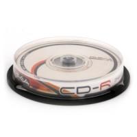 CD-R 700MB/80min. 52x iepak. bez vāc. 10gab., (56665)