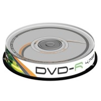 DVD-R 4.7GB 16x Cakebox 10 pcs, (56676)