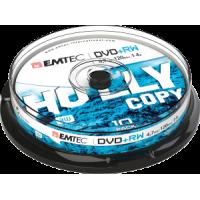 DVD+RW 4.7GB 4x iepak. bez vāciņiem 10gab., ECOVPRW47104CB