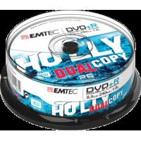 DVD+R Double Layer 8.5GB/240min. 8x iepak. bez vāciņiem 25gab., ECOVPR85258CB