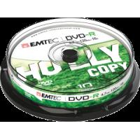 DVD-R 4.7GB 16x iepak. bez vāciņiem 10gab., ECOVR471016CB