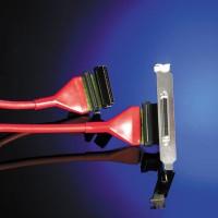 SCSI LVD Ultra 320 apaļš kabelis, iekšējs/ārējs, 1.30m