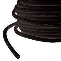VALUE Coaxial Cable RG-59, 75 Ohm, Black, 100 m roll