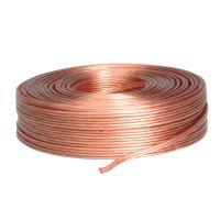 VALUE Loudspeaker Cable, transparent, 2.5mm², 100 m roll