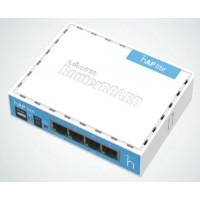 Mikrotik (RB941-2nD) 2x2 MIMO 2GHz b/g/n WiFi router (hAP lite)home access point
