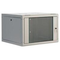 "19"" Wall cabinet 6U-600x400, stationary side edges"