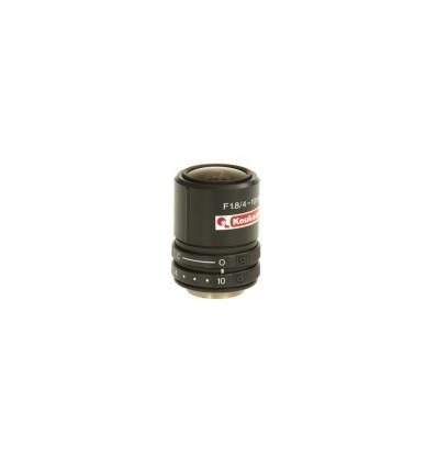 """Megapikseļu objektīvs 1/2"""" 4 - 10mm, F1.8, manual iris, CS"""