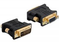 Delock Adapter VGA 15pin female DVI 24+5 male
