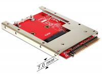 Delock Converter IDE 44 Pin mSATA with 2.5 Frame (7 mm)