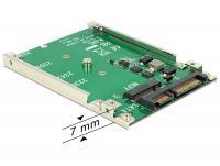 Delock 2.5 Converter SATA 22 Pin M.2 NGFF