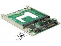 Delock 2.5 Converter SATA 22 pin mSATA with RAID