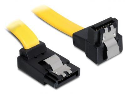 Delock Cable SATA 6 Gbs updown metal 50 cm