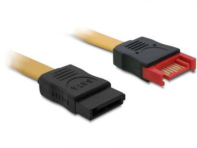 Delock Extension Cable SATA 6 Gbs male - female 30 cm