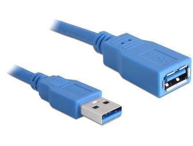Delock Cable USB 3.0-A Extension male-female 5m