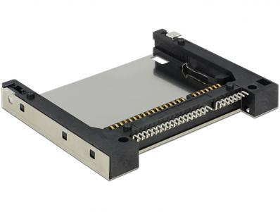 Steckverbinder CFAST Sockel mit Push-Push Mechanik Delock