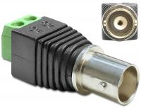 Delock Adapter BNC female Terminal Block 2 pin
