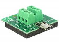 Delock Adapter Micro USB male Terminal Block 6 Pin