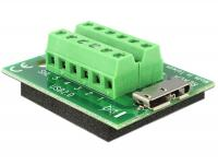 Delock Adapter Micro USB 3.0 female Terminal Block 12 Pin