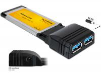 Delock Express Card 2x USB 3.0