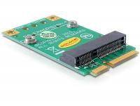 Delock Converter Mini PCI Express half-size full-size