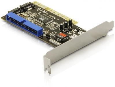 Delock PCI Card 2 x internal SATA 1.5 Gbs + 1 x internal IDE