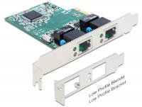 Delock PCI Express Card 2 x Gigabit LAN