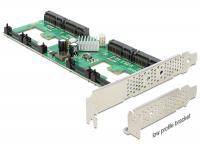 Delock PCI Express Card 4 x internal mSATA with RAID