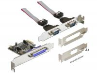 Delock PCI Express Card 2 x Serial + 1 x Parallel