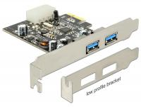 Delock PCI Express Card 2 x external USB 3.0