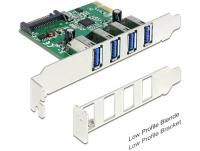 Delock PCI Express Card 4 x USB 3.0