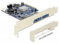 Delock PCI Express Card 2 x external Multiport USB 3.0 + eSATAp