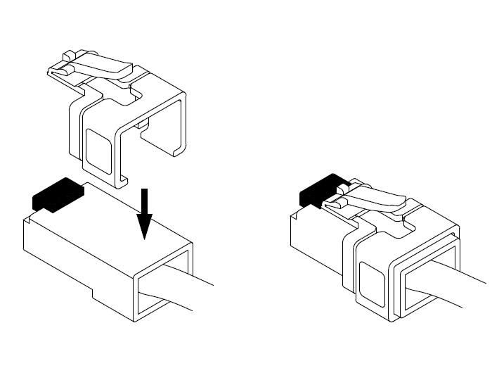 Delock Rj45 Repair Clip Set 2 A Cat 6 Jack Wiring: Cat 6 Jack Wiring At Johnprice.co