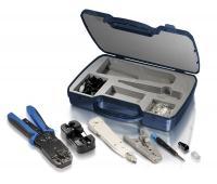 Werkzeug-Koffer für LAN + Telefon Equip