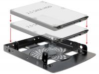 Delock Installation frame 3.5 2 x 2.5 HDD