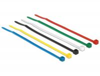Delock Cable ties coloured L 100 x W 2.5 mm 100 pieces